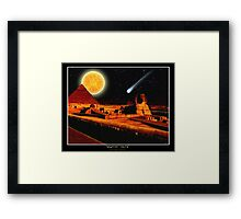"""Egyptian Nights"" Framed Print"