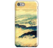 Cloudy peacefulness iPhone Case/Skin