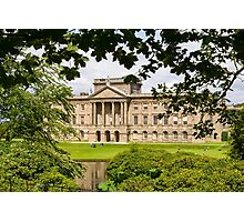 Lyme Park Through Trees Photographic Print
