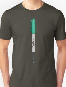 Doodler Green (1 of 4) Unisex T-Shirt