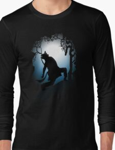 Howling Into The Woods Long Sleeve T-Shirt