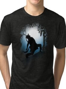 Howling Into The Woods Tri-blend T-Shirt