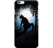 Howling Into The Woods iPhone Case/Skin