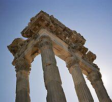 Temple Pergamon by rubyalexander