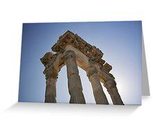 Temple Pergamon Greeting Card