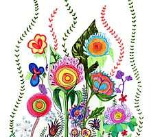 FLOWERS IN MEXICO by Heaven7
