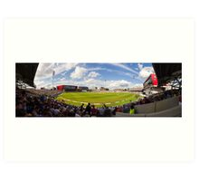 Old Trafford Cricket Ground Art Print
