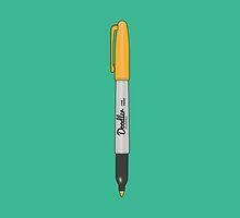 Doodler Orange (2 of 4) by golongkid