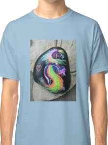 Rock 'N' Ponies - RAINBOW TAIL PONY Classic T-Shirt