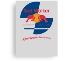 Red Walker Canvas Print