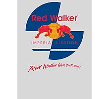 Red Walker Photographic Print