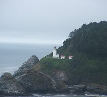 Heceta Head Lighthouse by Edith Farrell