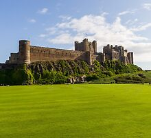 Bamburgh Castle by TomGreenPhotos