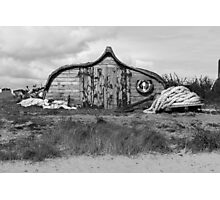 Boat Barn Photographic Print