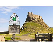 Lindisfarne Castle Photographic Print
