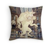 Monsters in Milan 8 Throw Pillow
