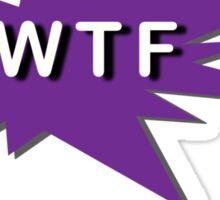 WTF - What the Fibromyalgia Sticker