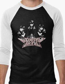 Evil Super Girls Men's Baseball ¾ T-Shirt
