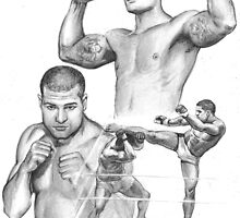 Mauricio Shogun Rua by Alleycatsgarden
