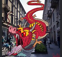 Monsters in Milan 9  by DanDav