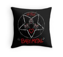 SAtaNic Cute Girls Throw Pillow