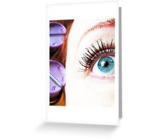 Suffer For Beauty Greeting Card
