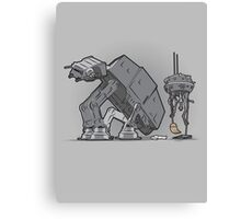 Trooper Scooper Canvas Print