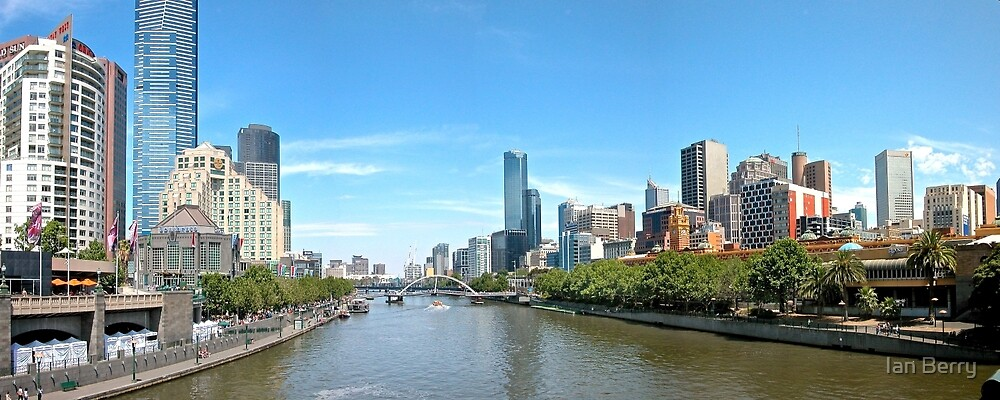 Yarra River by Ian Berry