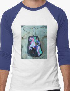 Rock 'N' Ponies - WAR FLY PONY Men's Baseball ¾ T-Shirt