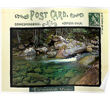 North West Bay River, Tasmania Poster