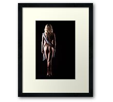 Beauty Queen Framed Print