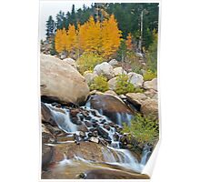 Fall Along the Alluvial Fan Poster