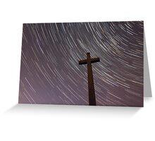 Cross & Stars Greeting Card