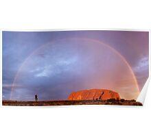 Uluru Dreaming Poster