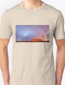 Uluru Dreaming Unisex T-Shirt
