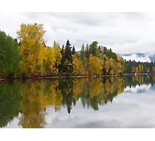 Montana Lake Reflection Photographic Print
