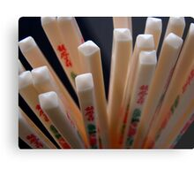 Chopsticks Metal Print