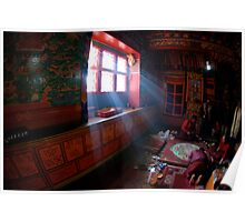 Thyanboche Monastery Poster