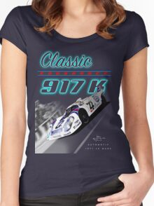 Classic Endurance Porsche 917K Women's Fitted Scoop T-Shirt