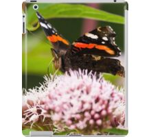 Red Admiral on Plant iPad Case/Skin