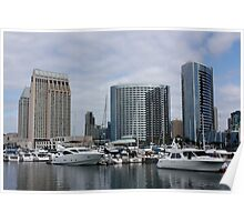 San Diego Downtown Poster