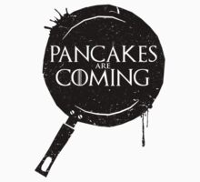 Pancakes Are Coming- Black Version Kids Clothes