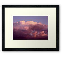 Magenta Hues Framed Print