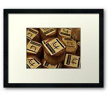 Irish Cheese Framed Print