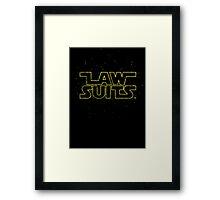 Lawsuits Framed Print