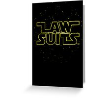 Lawsuits Greeting Card