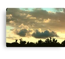 Early Canvas Print