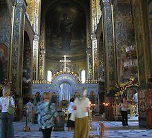 St Volodymyr's Cathedral, Kiev, Ukraine by LudaNayvelt