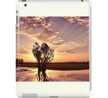 Yellow Water Billabong iPad Case/Skin