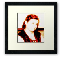 or in the humility Framed Print